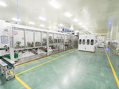 邦宝8号机生产线
